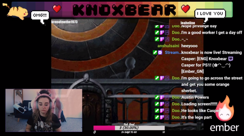 Knoxbear on Twitch